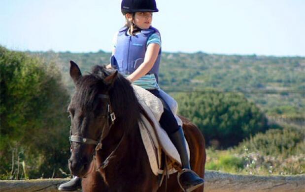 Iniciación al mundo de los caballos