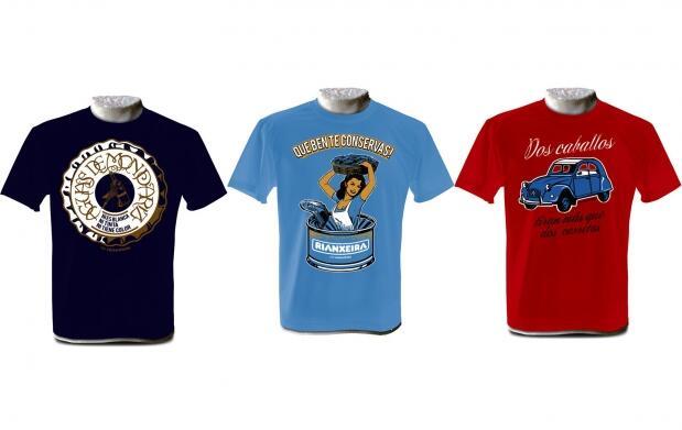 3 exclusivas camisetas Rei Zentolo