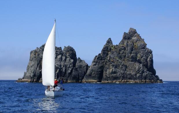 Escapada con ruta en velero