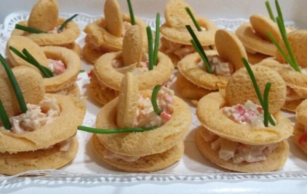 Exquisito menú navideño u opción catering de bocados a domicilio