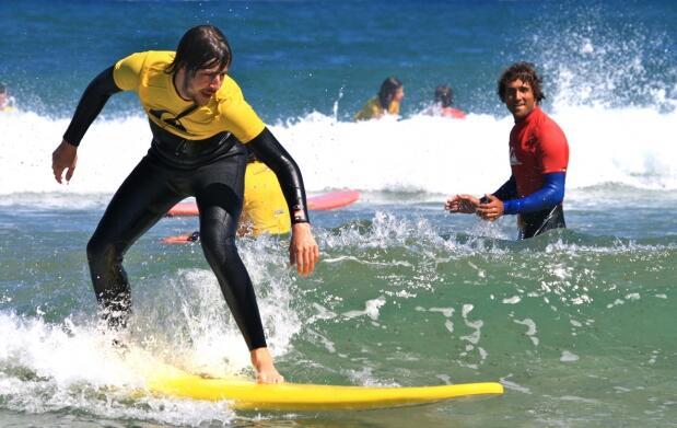 Curso de surf en Semana Santa