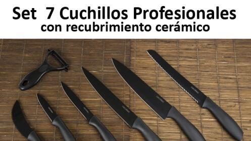 Set de cuchillos santoku descuento 80 - Set de cuchillos bergner ...