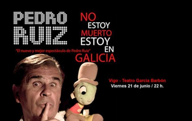 Entradas nueva gira Pedro Ruiz