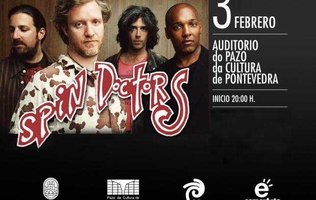 Entradas para Spin Doctors.Pontevedra