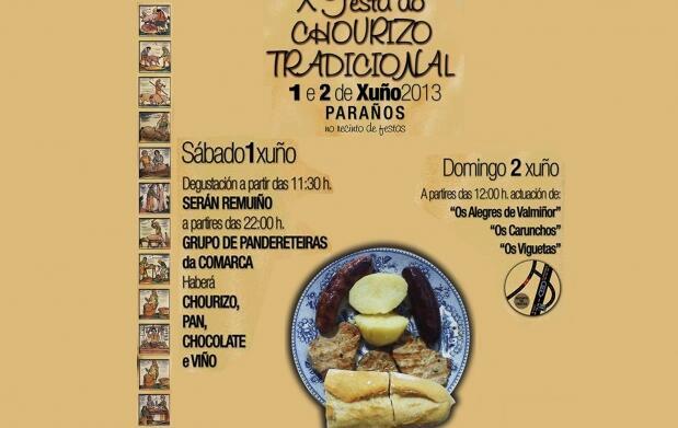 Festa do Chourizo! Plato tradicional