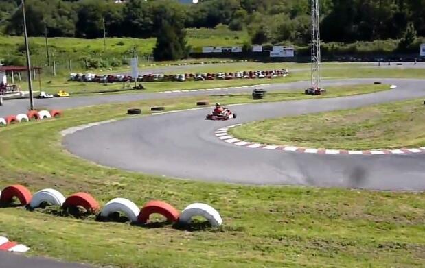 ¡Diviértete! Sesión de karting