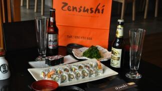 Exquisito menú completo japonés con bebida para 2 a domicilio. Zensushi (Restaurante Osushi)