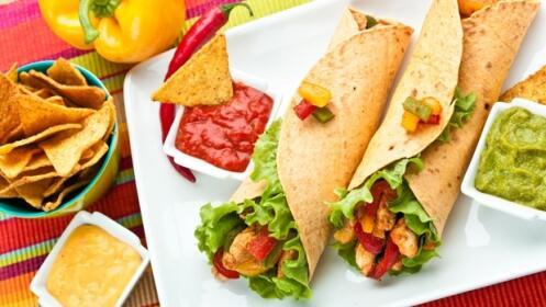 Menú mexicano para 2 personas