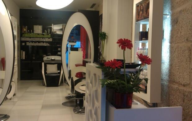 Exclusiva sesión de peluquería