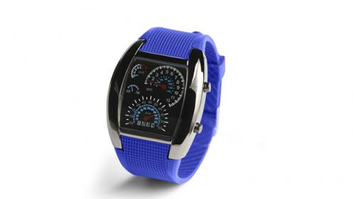 Reloj Led azul RPM