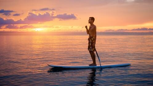 2 horas de travesía de Paddle Surf en Sanxenxo