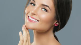 Tratamiento luminoso de perlas con masaje regenerante facial