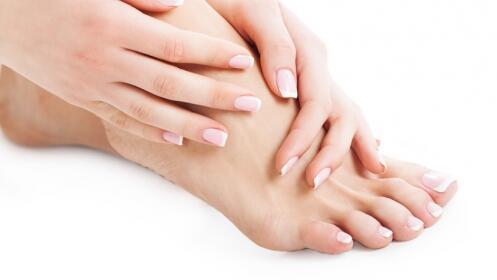 Tratamiento de hidratación con parafina para manos o pies.