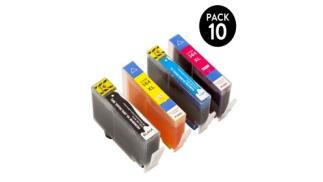Pack 10 o 20 cartuchos compatibles HP 364XL