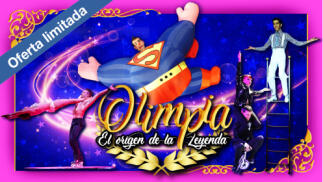 Entradas para niños y adultos del Circo Olimpia en Ordes ¡Nuevas funciones! ¡Oferta limitada!