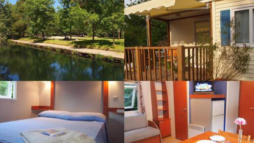 Magnífica escapada en un entorno natural único. Modernos Bungalows, piscina, playa fluvial, senderismo y mucho más.