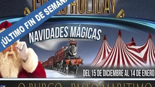 Entradas Circo Holiday en A Coruña