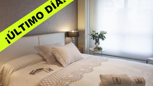 Estancia de lujo en los exclusivos Apartamentos Class&Confort. Para 4 o 6 personas. Portonovo (Sanxenxo)