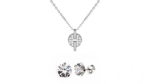 Conjunto Afrodita 3 con Swarovski Crystals