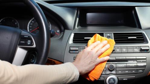 Limpieza de coche interior