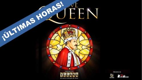 Entradas WE LOVE QUEEN. Sábado 20 enero. Vigo