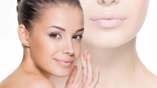 Limpieza facial con ácido hialurónico