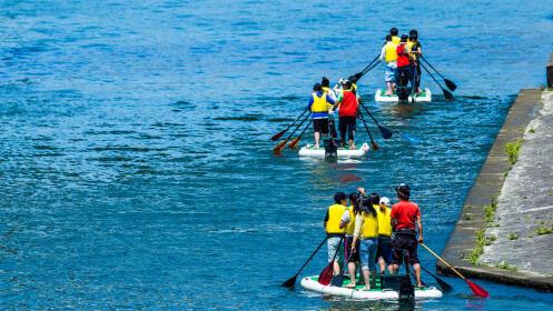 2 h. de Big Paddle Surf para 8 personas adultas o 15 niñ@s