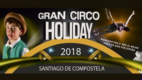 Entradas Circo Holiday en Santiago