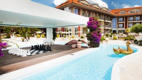 Escapada única de lujo y relax: alojamiento, desayuno, spa, media pensión y tratamientos en Agusta Spa Resort**** Superior.