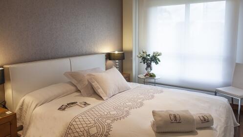 Estancia de lujo y spa en Apartamentos Class&Confort. Para 4 o 6 personas. Portonovo (Sanxenxo)