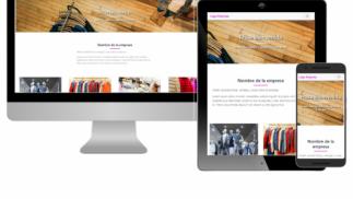 Diseño de página web para tu negocio.