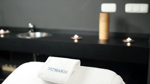 Masaje completo hidratante especial y acceso completo a Talaso Termaria
