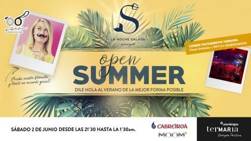 Entradas Noche Salada Fiesta Open Summer Termaria 2 junio