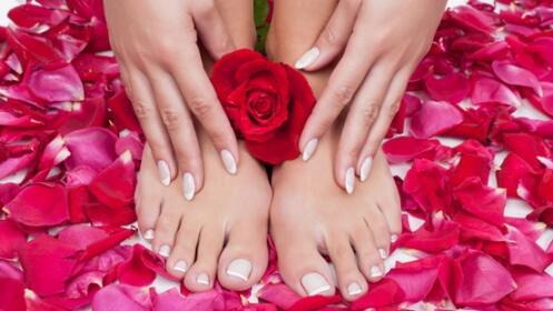Pedicura o manicura Shellac. Elige una opción o luce perfecta con las dos