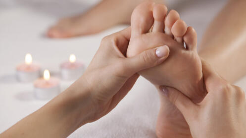 Pedicura completa con exfoliación y masaje podal unisex