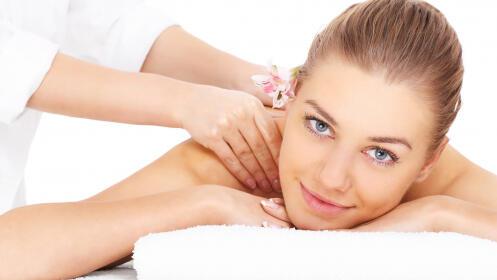 Masaje relajante hidratante con opción manicura o pedicura semipermanente