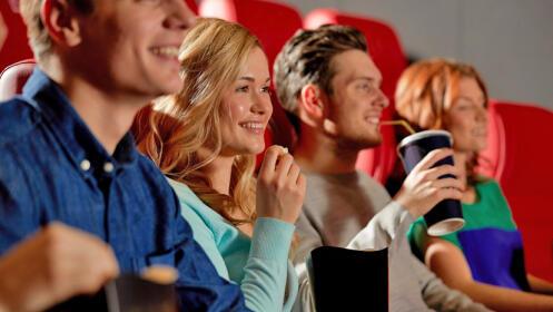 Entrada de cine, palomitas y refresco ¡Todas las sesiones de lunes a viernes!