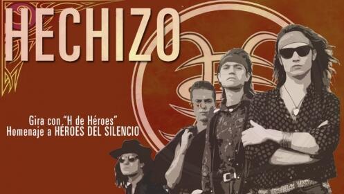 """Entradas Golden Ticket para Hechizo """"Homenaje a HÉROES DEL SILENCIO"""" en Santiago"""