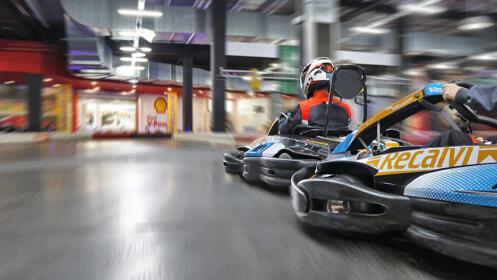 2 o 3 carreras con los mejores karts. Siéntete como un auténtico piloto ¡Oferta limitada!
