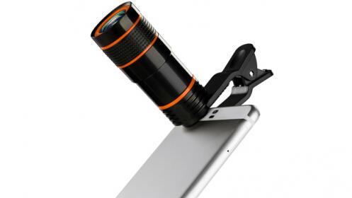 Lente Telescópica universal para Smartphone