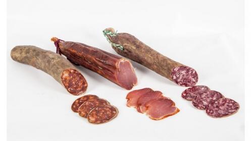 Chorizo y Salchichón ibérico + Lomo ibérico de cebo