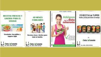 4 libros ebooks variados para que te alimentes de un modo saludable.
