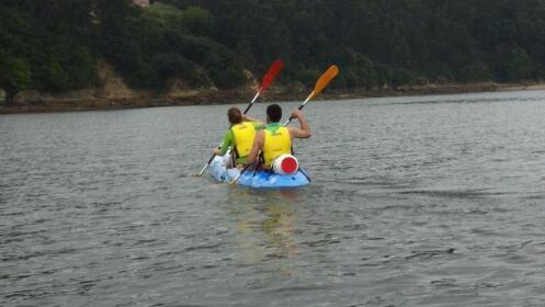 Alquiler o ruta guiada de 3h. en kayak o paddle surf.