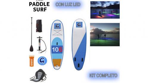 Kit completo de Paddle Surf & Kayak