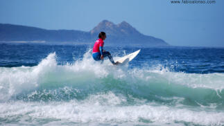 Cursos de Surf de 2h.Nigrán, Grove y Oleiros.