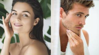 Exclusivo tratamiento facial unisex con cosmética personalizada