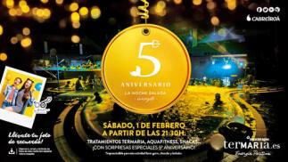 Entradas Noche Salada 5º aniversario en Termaria ¡Oferta limitada!