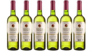 6 botellas de vino blanco Conde de Argaiz