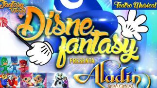 Entradas Aladin será Genial, El Musical en Santiago. 20 de octubre. ¡Oferta limitada!