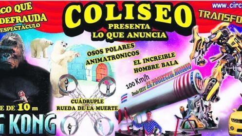 Entradas Circo Coliseo en Lugo ¡Oferta limitada!